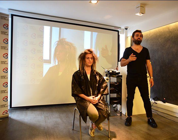 Ahmet Çoban ile ombre uygulamalı renklendirme semineri