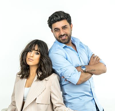 MBFWİ için Nil Nanat'ın saçlarını Cemil İrez tasarladı!