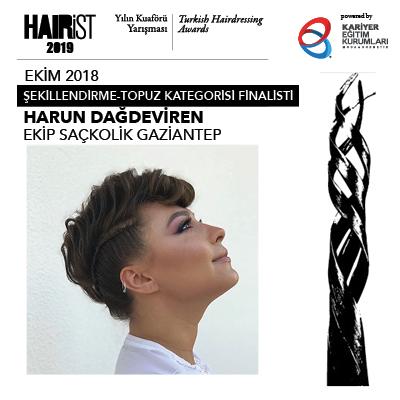 Hairist Yılın Kuaförü Yarışması 2018 Ekim Finalistleri