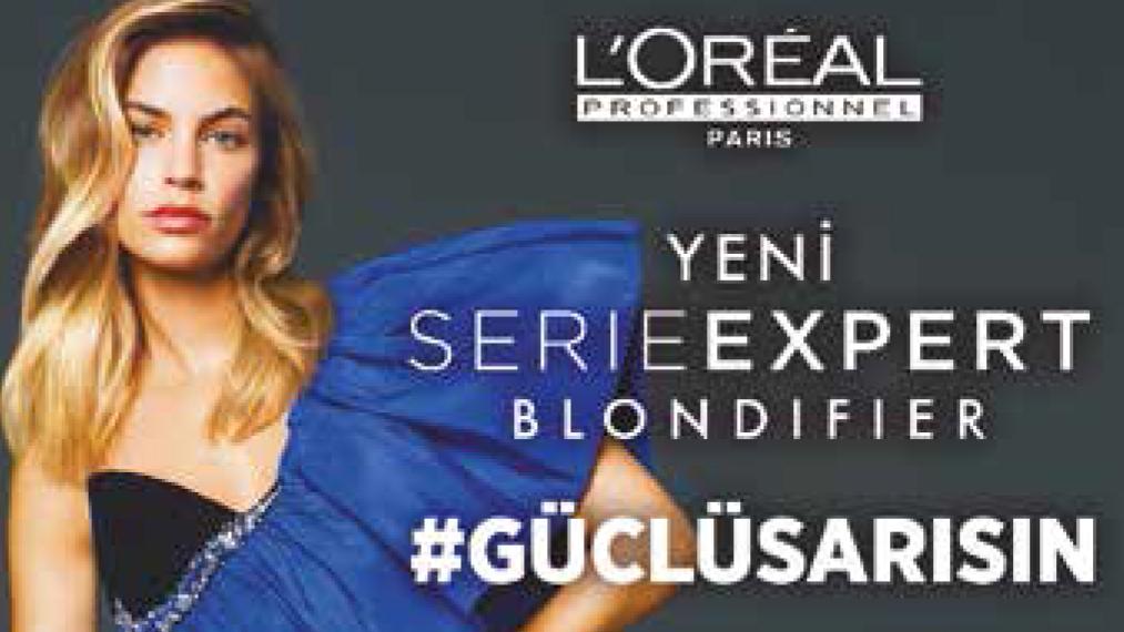 Sarı saçlarınızın rengini ve parlaklığını Série Expert'den yeni BLONDIFIER serisi ile Koruyun!