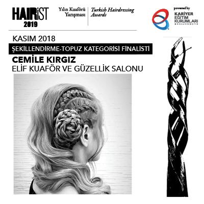Renk ve Kesim Kategorisi Ekim 2018 Finalistleri