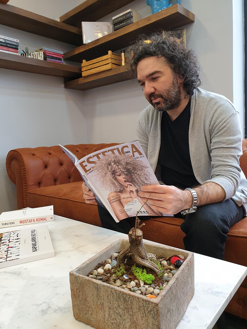 Film setlerinde kuaförlük: Serkan Karadağ