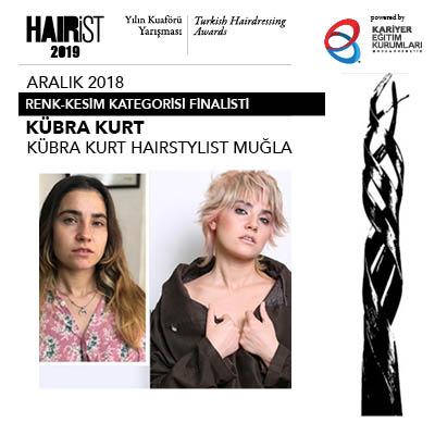 Hairist Yılın Kuaförü Yarışması 2018 Aralık Finalistleri