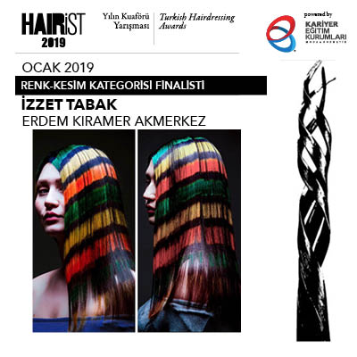 Ocak 2019 kesim renklendirme finalistlerini Damien Carney seçti