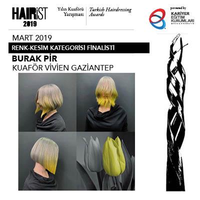 Mart 2019 finalistlerini Schwarzkopf Professional'ın Küresel Stil Elçisi Richard Ashforth seçti