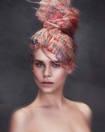 David Murray'den 'Hair Art' koleksiyonu