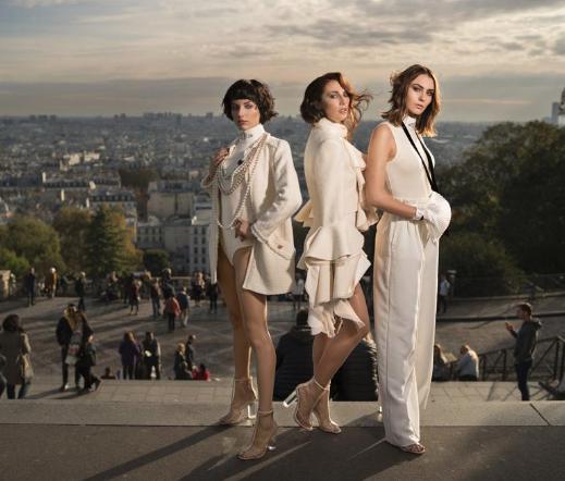 Intercoiffure'den Les Parisiennes koleksiyonu