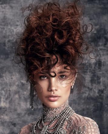 KH Hair Kreatif Takımı'ndan Textured Glamour koleksiyonu