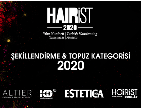 Yılın Kuaförü Yarışması 2020 Şekillendirme&Topuz Kategorisi
