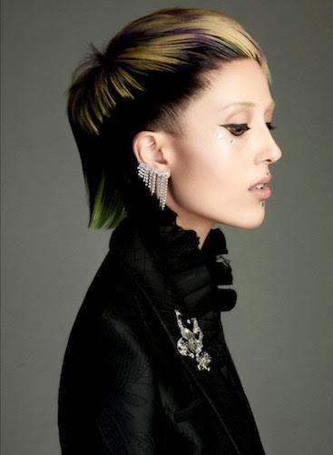 Über Luxus saç modelleri ve renkler