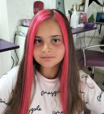 16 yaşından küçük -saç boyama